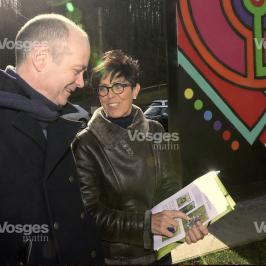 Vosges Matin: annonce de la venue de JBC sur le MUR Epinal