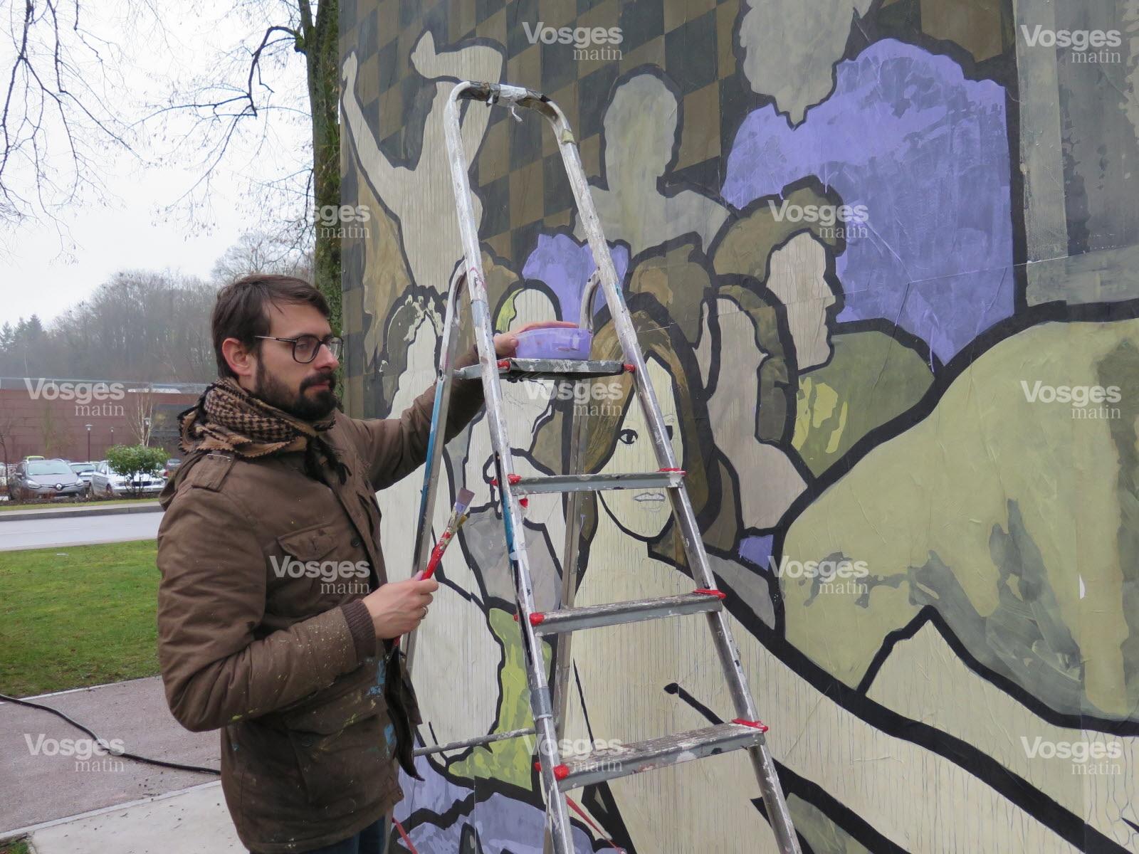 Un Mur dont on n'a pas fini d'entendre parler – Vosges Matin 11 mars 2017