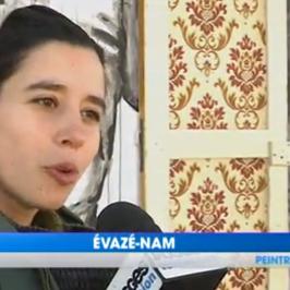 Evazesir – Vosges Television      interview du 28-04-2017