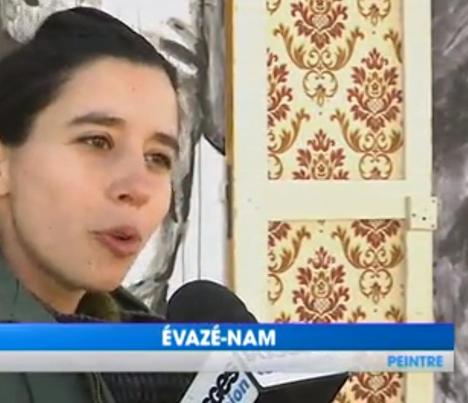 Evazesir – Vosges Television – interview du 28-04-2017